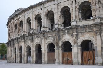 Les arènes de Nîmes